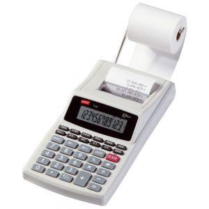 bien mettre rouleau calculatrice imprimante