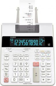 test calculatrice imprimante Casio FR 2650 RC