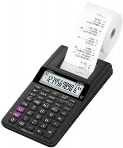 calculatrice imprimante Casio HR8RCE